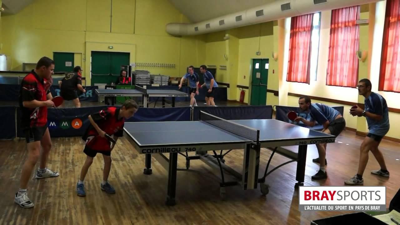 Tt bully montivilliers 11 mai 2014 braysports youtube - Ligue haute normandie tennis de table ...