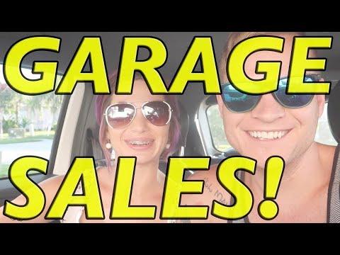 GARAGE SALE WITH US! Yard Sale Treasure Hunting on a Saturday!