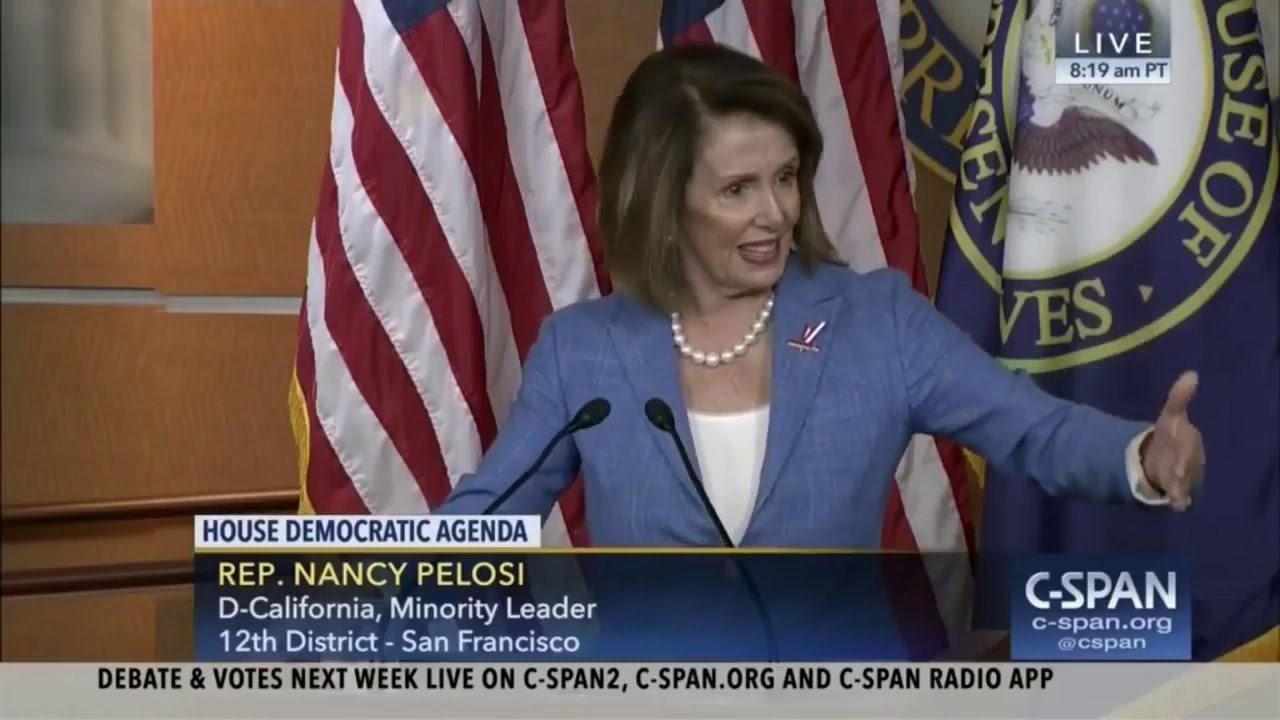 Pelosi says Democrats Lie then destroy political foes.