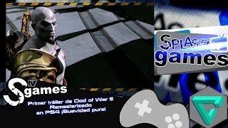 Primer tráiler de God of War III Remasterizado en PS4 ¡Suavidad pura!