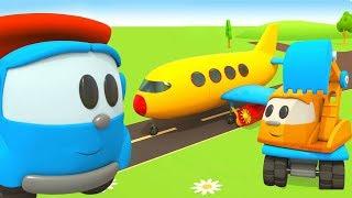 Мультфильм Грузовичок Лева - Мультики для детей - Самолет