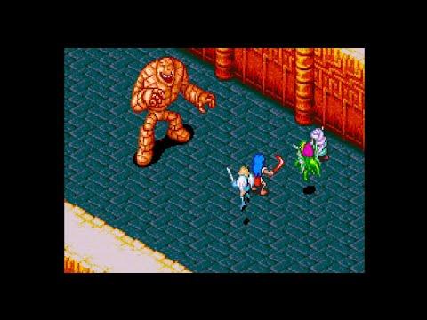 Goda - Breath of Fire Boss Battle