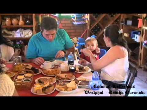 Café Colonial Kaffeehaus Westphal - Rancho Queimado - YouTube