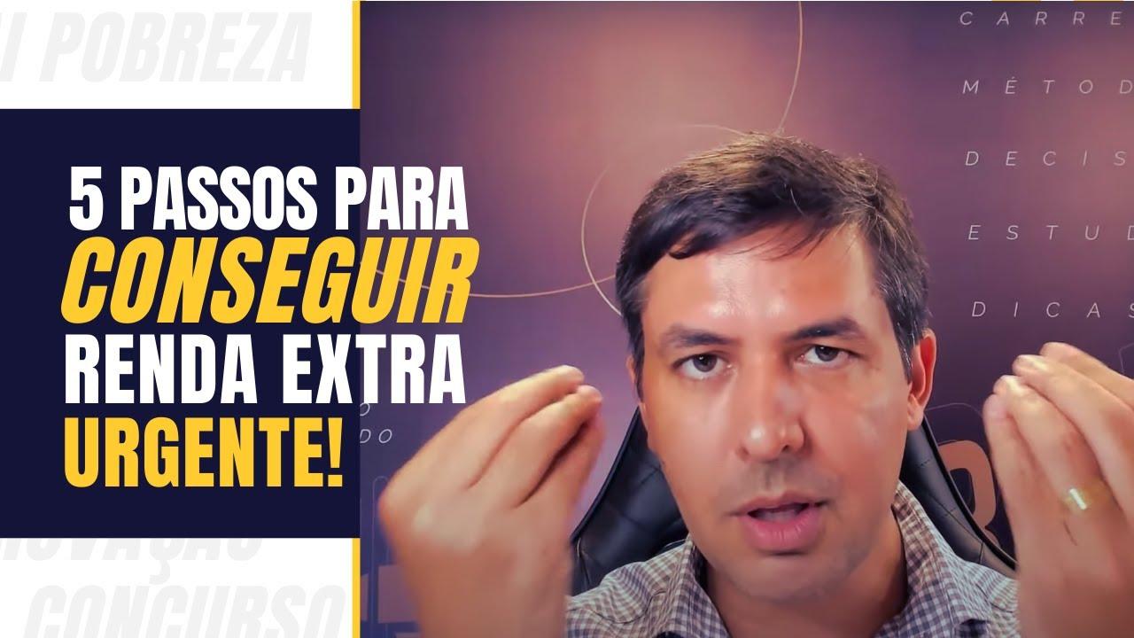 5 passos para conseguir renda extra urgente | Aragonê Fernandes