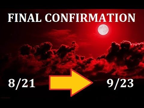 September 23 2017 Revelation 12 Sign l The Blood Moon Tetrad and Augst Eclipse points at the Sign!