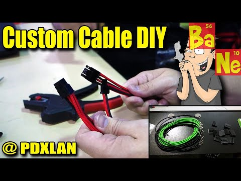 How to make your own custom cables for your PC