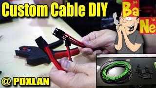 Nerdy Ninja's Custom Cable Pinning Tutorial @ PDXLAN
