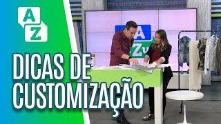 Customização de roupas - De A a Zuca (16/05/19)