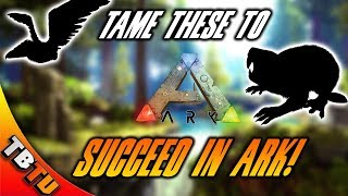 THE BEST DINOSAURS TO TAME IN ARK! THE MOST USEFUL DINOSAURS IN  ARK! Ark Survival Evolved