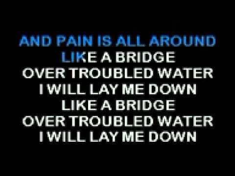 Clay Aiken   Bridge Over Troubled Water Karaoke www keepvid com