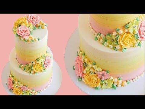 elegant-buttercream-rose-cake-tutorial--rosie's-dessert-spot
