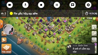 Chay Balon và War Clans - clash of clans war