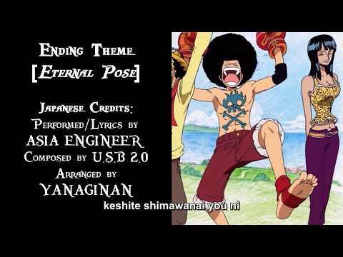 One Piece ED 15 - Eternal Pose (Arrange EUROBEAT Cover, Subtitled) (HD)