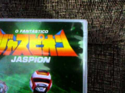 só dvds originais do jaspion, changeman e filme classico goonies.mp4