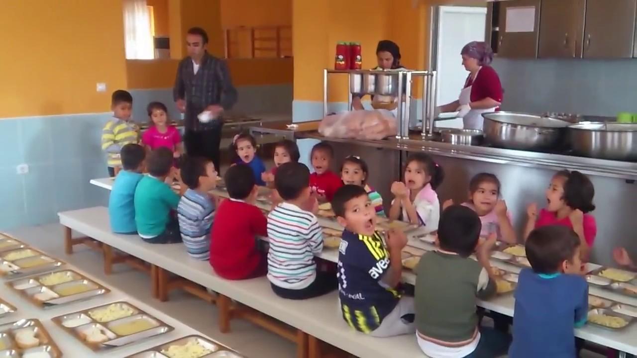 Anaokulu Yemek Duasi Kumluca Okul Oncesi Egitim