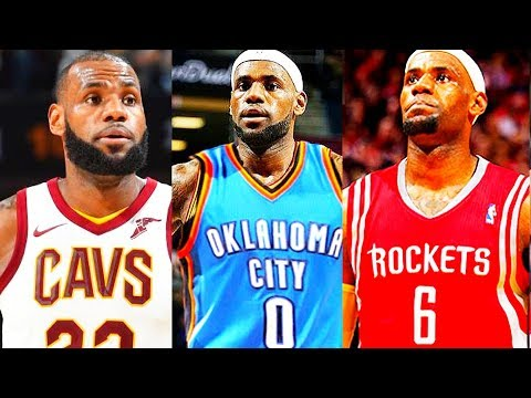 LeBron James Leaves Cleveland Cavaliers and Joining Thunder, Rockets, Warriors, Lakers, Spurs