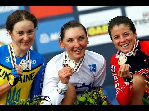 Elite Women's Individual Time Trial Highlights - 2014 Road World Championships, Ponferrada, Spain