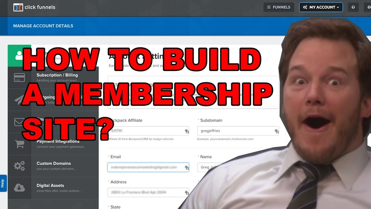 Unknown Facts About Clickfunnels Membership Site