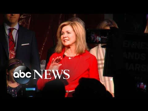 Marsha Blackburn to deliver victory speech after winning Senate race