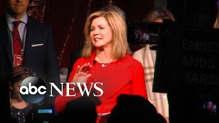 Marsha Blackburn to deliver victory speech after winning Senate race