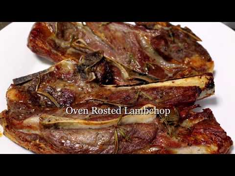 Oven Rosted Lamb Chop