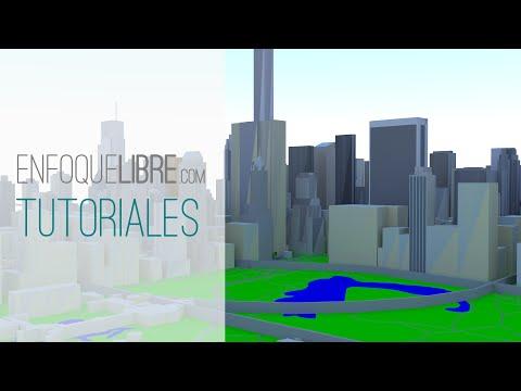 Cómo generar mapas 3D con datos de OpenStreetMap