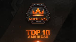 Top 10 Plays of Americas Minor - Feat. Moose, Dephh, ptr!