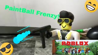 Roblox Paintball!/ PaintBall STYLE! Roblox Stopmotion Parody! #RobloxToys ( ft. Edpie202)