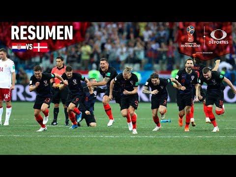 ¡Croacia avanza a Cuartos de Final! | Resumen Croacia 4 - 3 Dinamarca | Mundial Rusia 2018