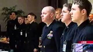 Georgian president visits United States Naval Academy