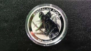 2018 Australia 1 oz Silver Koala Review