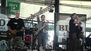 Big D And The Kids Table - Modern American Gypsy, Warped Tour 2011 Scranton Pa
