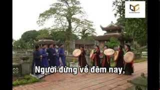 Ngẫu Hứng Giao Duyên - Quan Họ - Karaoke (Beat phối)