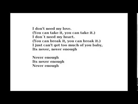 8MM - NEVER ENOUGH LYRICS - SongLyrics.com