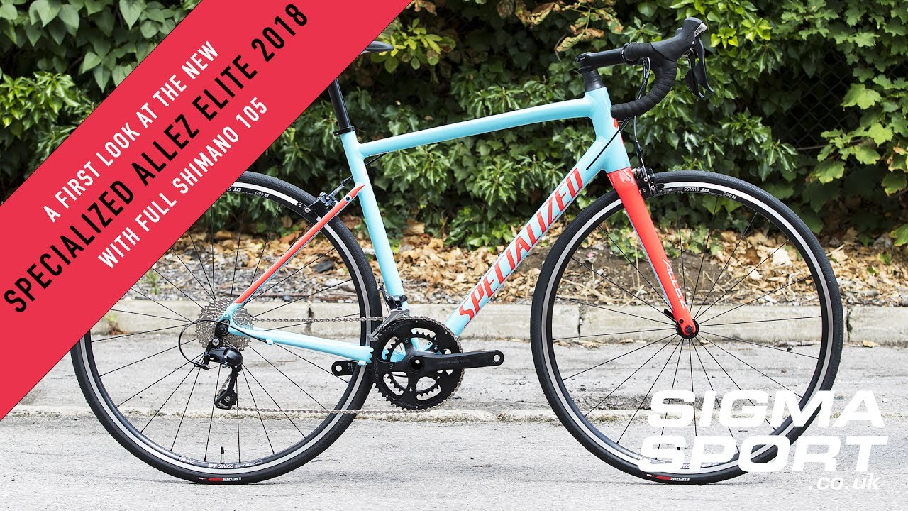 A First Look At The All New Specialized Allez Elite 2018 | Sigma Sports