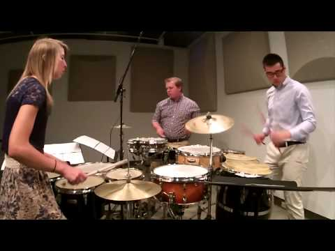 Basic Geometry by Josh Gottry performed by Iowa Percussion