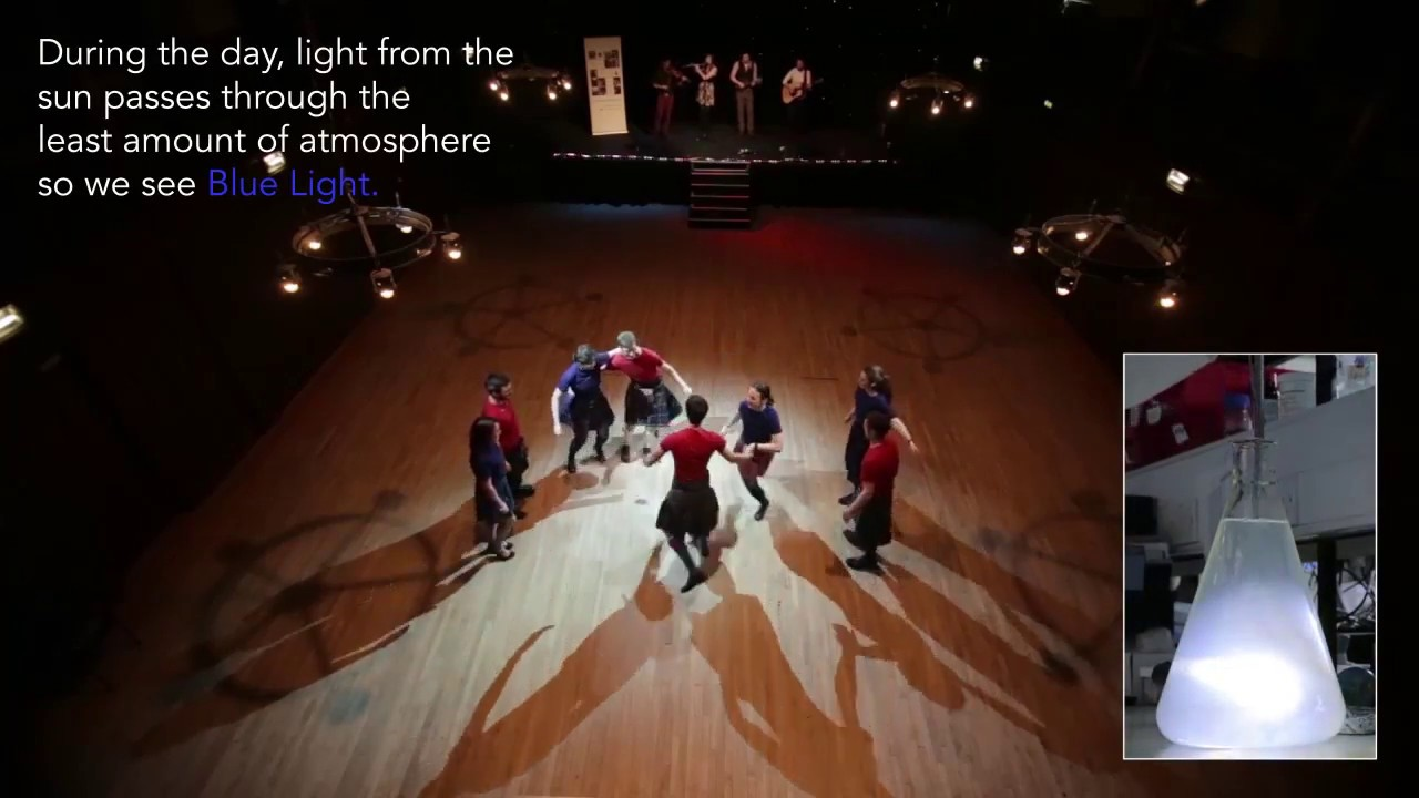 Download Why is the sky blue? Shepherd's Delight Dance with Science Ceilidh
