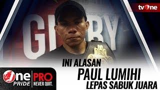 Paul Lumihi Lepas Sabuk Juara Featherweight, Ini Alasannya..