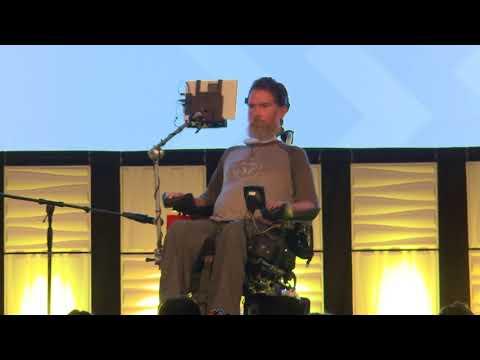 Steve Gleason Keynote Speech at Numotion National Leadership Conference 2018