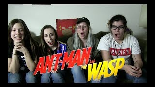 Antman and the Wasp Trailer Reactions