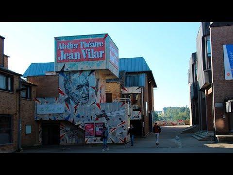 Accès Théâtre Jean Vilar
