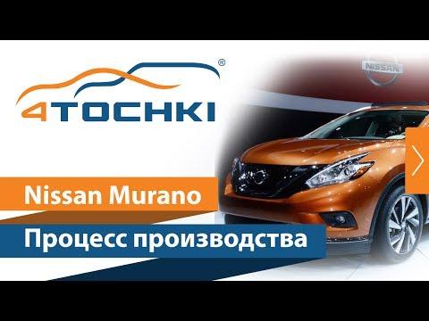 Процесс производства Nissan Murano на 4 точки