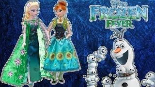 Куклы Эльза и Анна Набор Холодное сердце 2 : Холодное торжество Дисней Обзор и распаковка