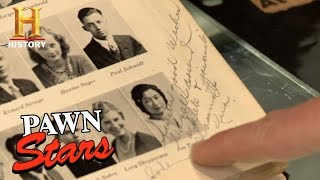 Pawn Stars: Tokyo Rose Signed Yearbook | History