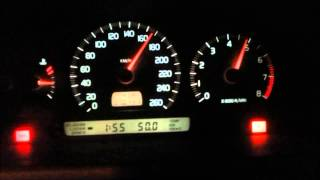 Volvo C70 T5 acceleration  0-220 manual