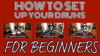 How to set up your drums (for beginners)