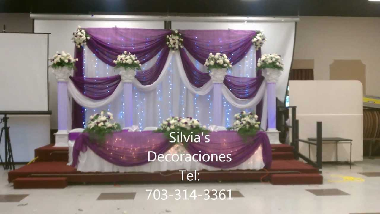Silvia 39 s decoraciones youtube for Decoracion cortinas