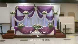Repeat youtube video Silvia's decoraciones