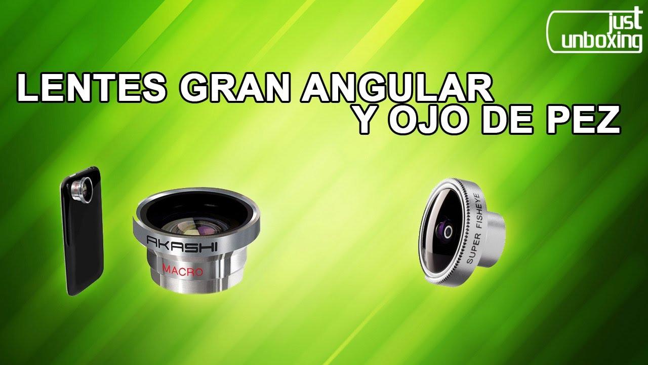 063415891aa Lentes ojo de pez y gran angular + macro para tu smartphone | De compras  por China (Everbuying) - YouTube