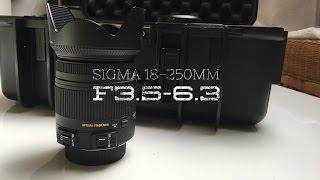 Sigma 18-250 mm F3,5-6,3 DC Macro OS HSM Review Deutsch